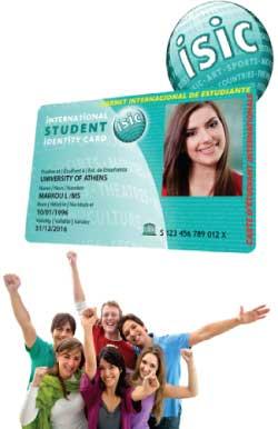 Φοιτητικές τιμές Βόλος Isic-Card